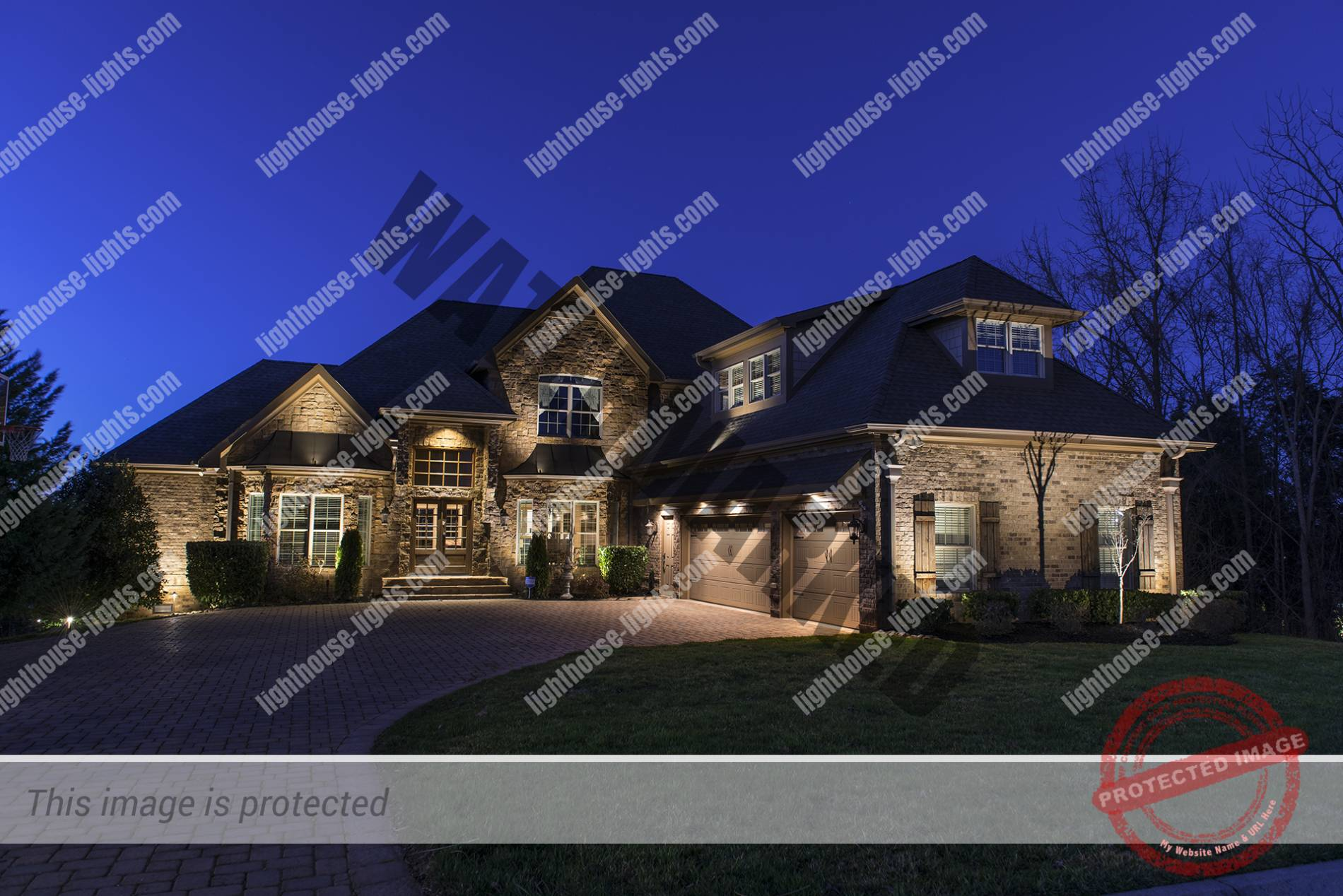 Beautiful Brick and Stone Home in Knoxvill Area