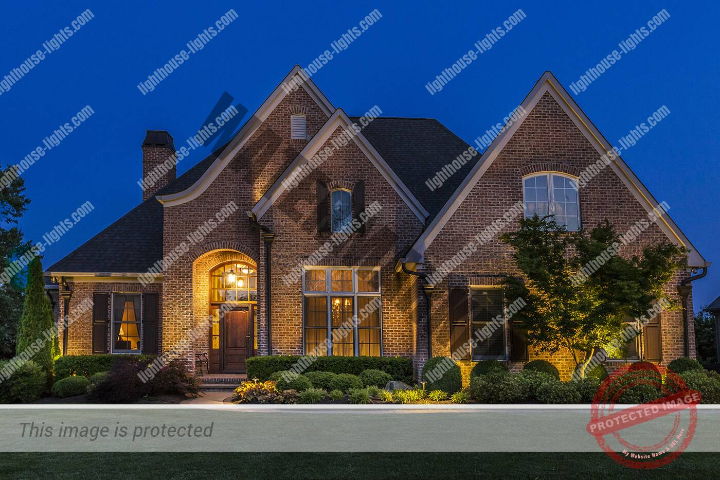 Architectural Lighting in Jefferson Park Subdivision Knoxville