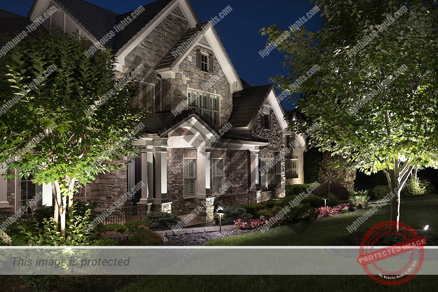 Architectural Lighting in Bridgemore Subdivision Farragut TN
